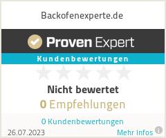 Erfahrungen & Bewertungen zu Backofenexperte.de