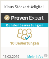 Erfahrungen & Bewertungen zu Klaus Stöckert #digital