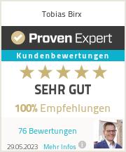 Erfahrungen & Bewertungen zu Tobias Birx