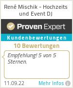 Erfahrungen & Bewertungen zu DJ René Mischik - Event DJ