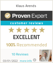 Ratings & reviews for Klaus Arends