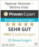 Erfahrungen & Bewertungen zu Hypnose Hannover - Bettina Vidal