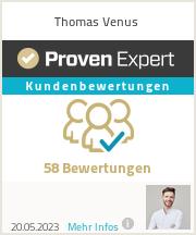 Erfahrungen & Bewertungen zu Thomas Venus