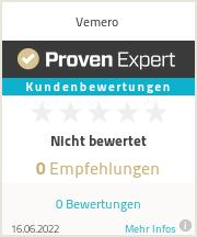 Erfahrungen & Bewertungen zu Vemero