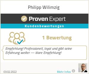 Erfahrungen & Bewertungen zu Philipp Wilimzig