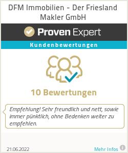 Erfahrungen & Bewertungen zu DFM - Der Friesland Makler e.K.