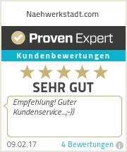Erfahrungen & Bewertungen zu Naehwerkstadt.com