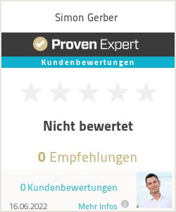 Erfahrungen & Bewertungen zu Simon Gerber