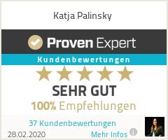 Erfahrungen & Bewertungen zu Katja Palinsky