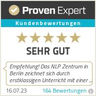 Erfahrungen & Bewertungen zu NLP-Zentrum Berlin