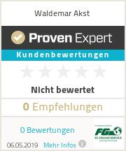 Erfahrungen & Bewertungen zu Waldemar Akst