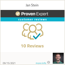 Ratings & reviews for Jan Stein