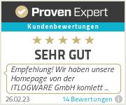 Erfahrungen & Bewertungen zu ITLOGWARE GmbH