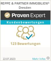 Erfahrungen & Bewertungen zu REPPE & PARTNER IMMOBILIEN® Dresden