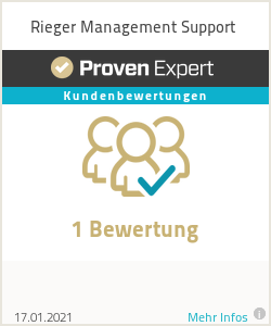 Erfahrungen & Bewertungen zu Rieger Management Support