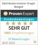 Erfahrungen & Bewertungen zu Dachdeckermeister Gregor Weigelt
