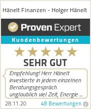 Erfahrungen & Bewertungen zu Hänelt Finanzen - Holger Hänelt