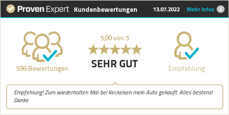 Erfahrungen & Bewertungen zu Autohaus Keckeisen GmbH anzeigen