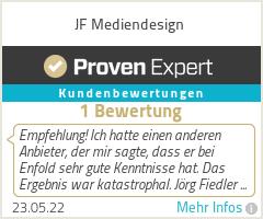 Erfahrungen & Bewertungen zu JF Mediendesign