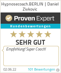 Erfahrungen & Bewertungen zu Hypnosecoach.BERLIN | Daniel Zivkovic