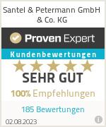 Erfahrungen & Bewertungen zu Santel & Petermann GmbH & Co. KG