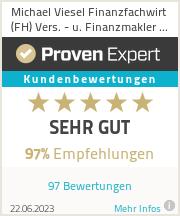 Erfahrungen & Bewertungen zu Michael Viesel Finanzfachwirt (FH) Vers. - u. Finanzmakler GmbH