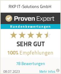 Erfahrungen & Bewertungen zu RKP IT-Solutions GmbH