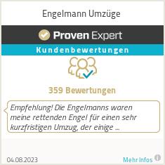 Erfahrungen & Bewertungen zu Engelmann Umzüge