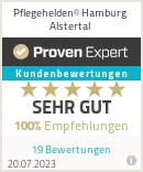 Erfahrungen & Bewertungen zu Pflegehelden® Hamburg Alstertal