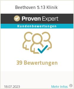 Erfahrungen & Bewertungen zu Beethoven 5.13 Klinik