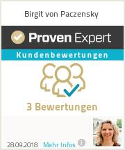 Erfahrungen & Bewertungen zu Birgit Von Paczensky