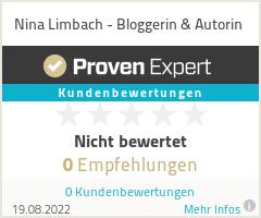 Erfahrungen & Bewertungen zu Nina Limbach - Bloggerin & Autorin