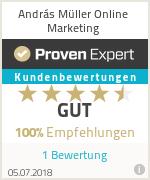 Erfahrungen & Bewertungen zu András Müller Online Marketing