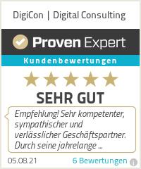 Erfahrungen & Bewertungen zu DigiCon   Digital Consulting