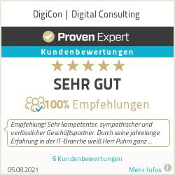 Erfahrungen & Bewertungen zu DigiCon | Digital Consulting