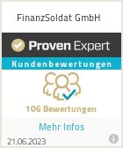 Erfahrungen & Bewertungen zu FinanzSoldat GmbH