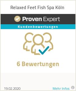 Erfahrungen & Bewertungen zu Relaxed Feet Fish Spa Köln