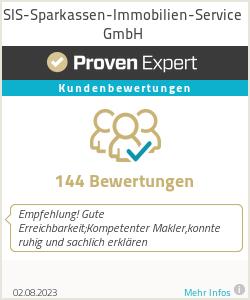Erfahrungen & Bewertungen zu SIS-Sparkassen-Immobilien-Service GmbH