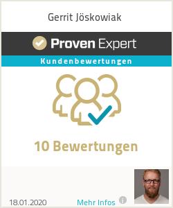 Erfahrungen & Bewertungen zu Gerrit Jöskowiak