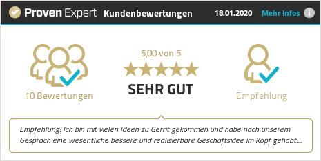 Kundenbewertungen & Erfahrungen zu Gerrit Jöskowiak. Mehr Infos anzeigen.