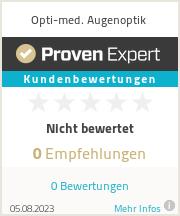 Erfahrungen & Bewertungen zu Opti-med. Augenoptik