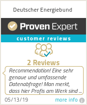 Ratings & reviews for Deutscher Energiebund