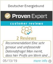 Ratings & reviews for Deutscher Energiebund