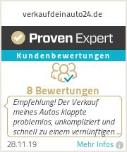 Erfahrungen & Bewertungen zu verkaufdeinauto24.de