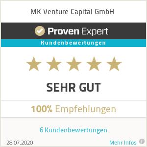 Erfahrungen & Bewertungen zu MK Venture Capital GmbH