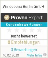 Erfahrungen & Bewertungen zu Windobona Berlin GmbH