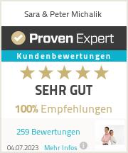 Erfahrungen & Bewertungen zu Sara & Peter Michalik