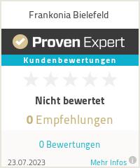 Erfahrungen & Bewertungen zu Frankonia Bielefeld