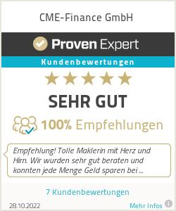 Erfahrungen & Bewertungen zu CME-Finance GmbH