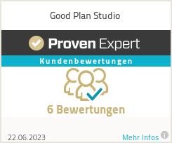 Erfahrungen & Bewertungen zu Good Plan Studio
